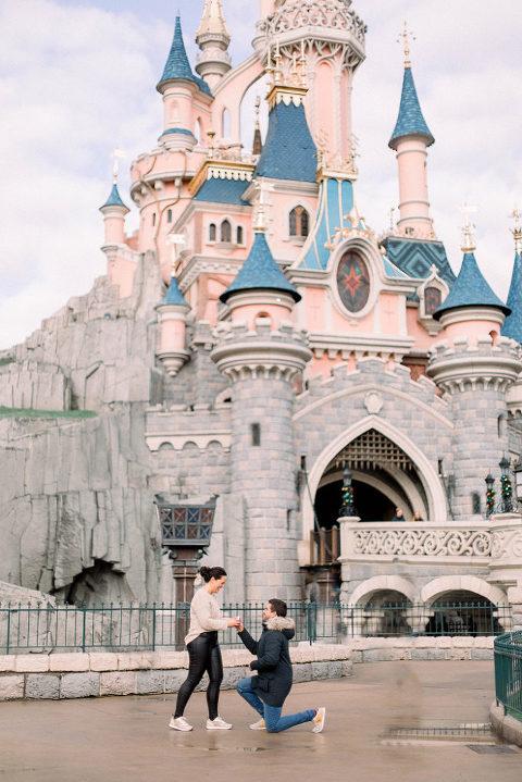 Pedida de matrimonio en Disneyland